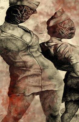 Silent Hill Nurses     Altered Poster