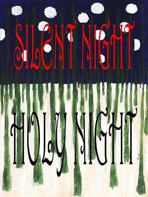 Silent Night Holy Night Poster by Patrick J Murphy