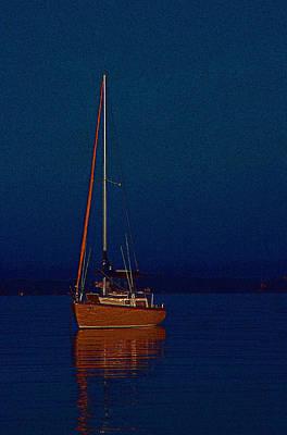 Silent Sails  Poster by Bob Whitt