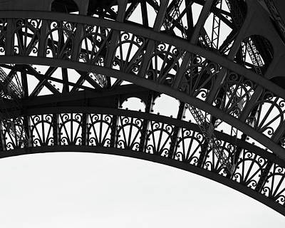 Silhouette - Paris, France Poster by Melanie Alexandra Price