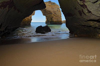 Silky Sands And Arch Poster