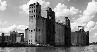 Silo City 1 Poster by Peter Chilelli
