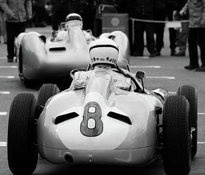 Silver Arrows Number 8 Poster