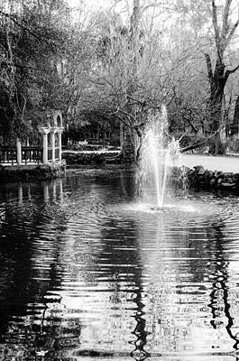 Silver Lake - Park Maria Luisa Poster