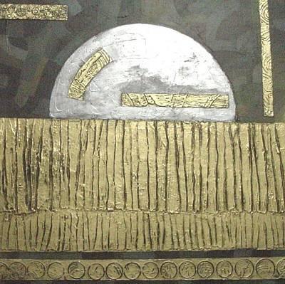 Silver Moon Poster by Bernard Goodman