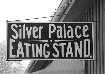 Silver Palace Eating Stand Sacramento Ca Poster