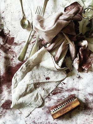 Silver Polishing Poster by Tom Gowanlock