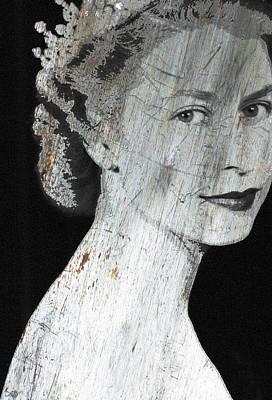 Silver Queen Elizabeth  Poster