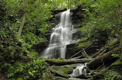 Silverspray Falls - Tillman Ravine Poster by Stephen  Vecchiotti