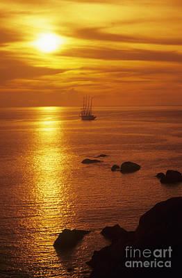Similan Islands Sunset Poster