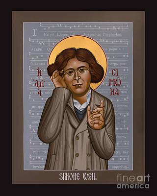Simone Weil - Rlsiw Poster