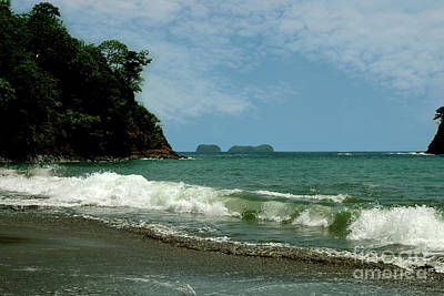 Simple Costa Rica Beach Poster