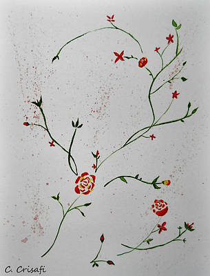 Simple Flowers #1 Poster