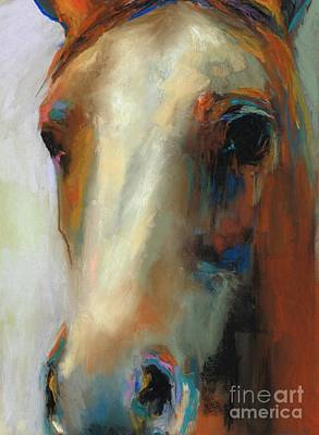 Simple Horse Poster by Frances Marino