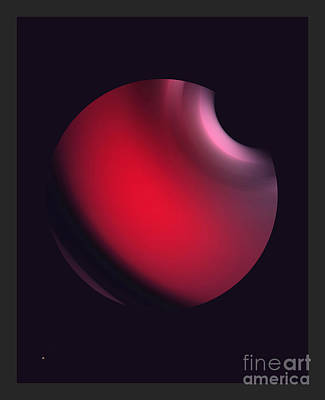 Poster featuring the digital art Simplicity 12-2 by John Krakora