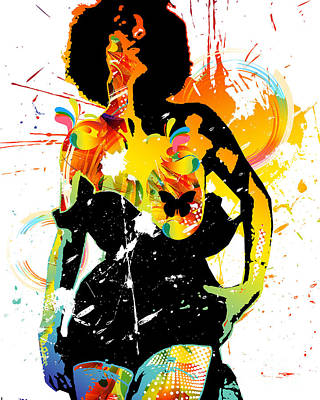 Simplistic Splatter Poster