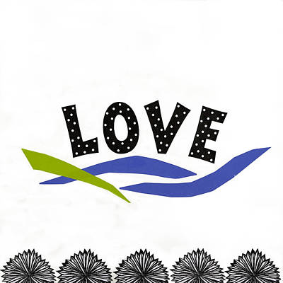 Simply Love Poster by Gloria Rothrock
