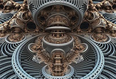 Simply Symmetrical Poster