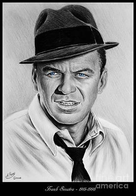 Sinatra Blue Eyes Edition Poster