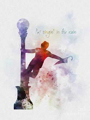 Singin' In The Rain Poster by Rebecca Jenkins