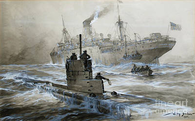 Sinking Of The Linda Blanche Out Of Liverpool Poster