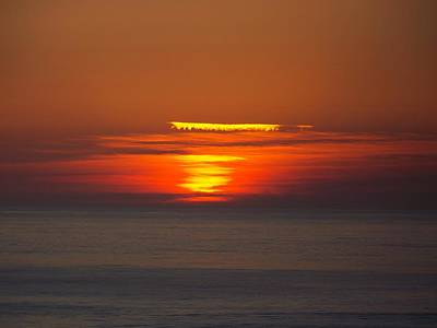 Poster featuring the photograph Sinking Sun by Angi Parks