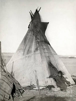 Sioux Tipi, 1891 Poster