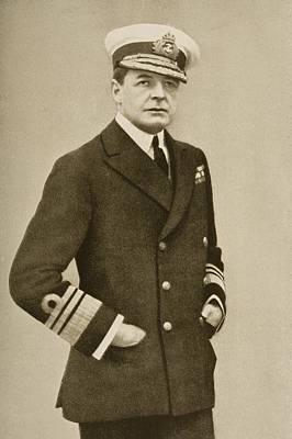 Sir David Beatty, 1871-1936. British Poster by Vintage Design Pics