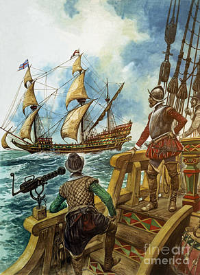 Sir Francis Drake Poster by Peter Jackson