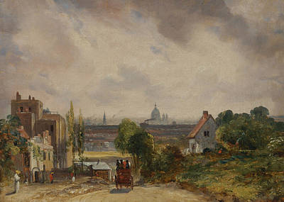 Sir Richard Steele's Cottage Poster by John Constable