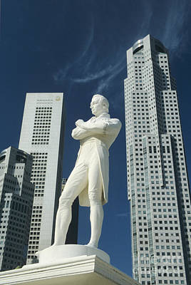 Sir Stamford Raffles Poster by Gloria and Richard Maschmeyer - Printscapes