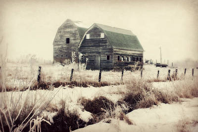 Sister Barns Poster by Julie Hamilton