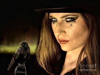 Sister Raven Series - Spider Eyes  Poster