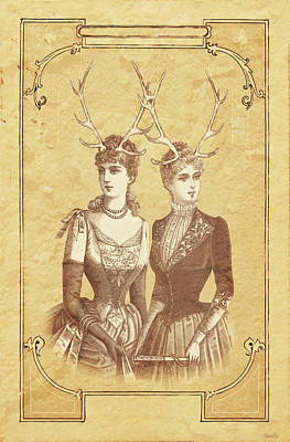 Sisters Emmaline And Cornelia Always Wore The Biggest Hats Poster