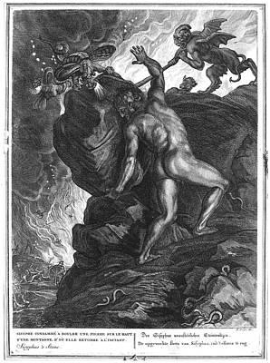 Sisyphus Stone Poster