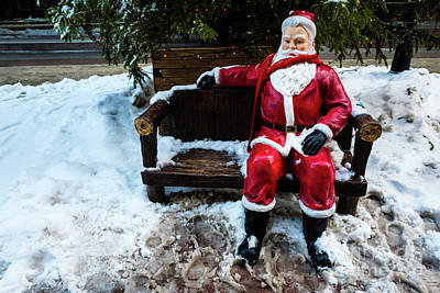 Sit With Santa Poster