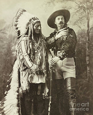 Sitting Bull And Buffalo Bill Cody Poster