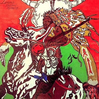 Sitting Bull Shall Rise Again Poster