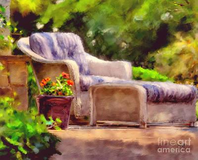 Sitting Pretty Poster by Lois Bryan