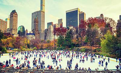 New York Central Park Poster