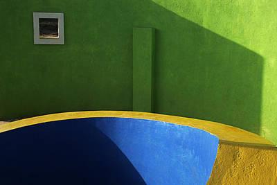 Skc 0305 The Fundamental Colors Poster by Sunil Kapadia