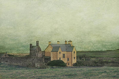 Sker House  Poster by Sue Fulton