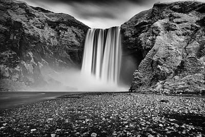 Poster featuring the photograph Skogafoss by James Billings
