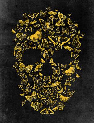 Skull Butterflies 2 Poster