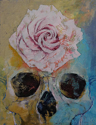 Rose Poster by Michael Creese