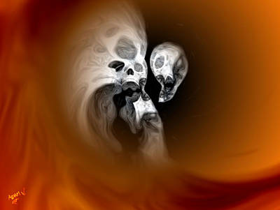 Skull Scope 2 Poster