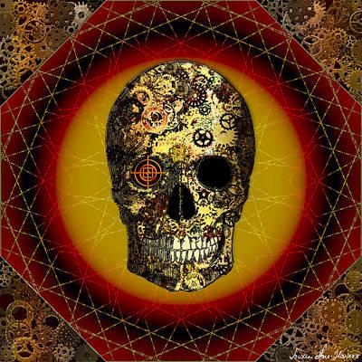 Skullgear Poster by Iowan Stone-Flowers