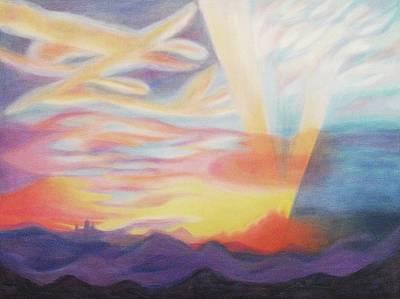 Sky Ablaze Poster