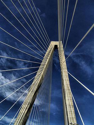 Sky Lines Of Arthur Ravenel Jr Bridge Poster