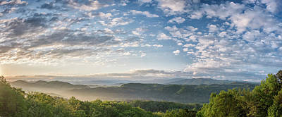 Sky On The Parkway Poster by Jon Glaser